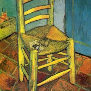 「ゴッホ」の椅子