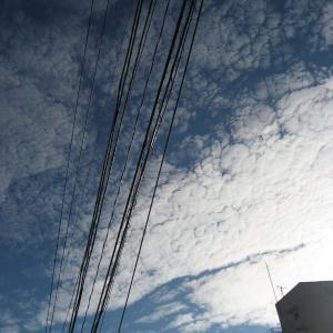 かわりゆく冬の雲