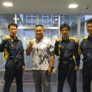 富山県消防学校(警防科&救助科)に感謝!