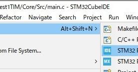 STM32でDCCを作る方向で (2) まずはタイマと割り込みとLEDチカ
