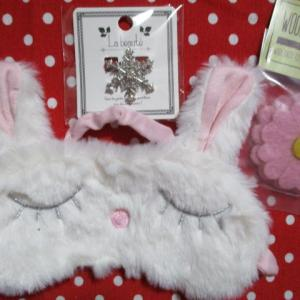 ☆ウサギのアイマスク☆