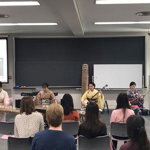 留学生の為の日本文化体験授業@桜美林大学