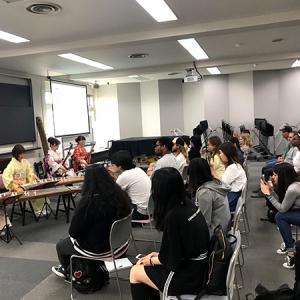 留学生向け箏と三味線のワークショップ@桜美林大学