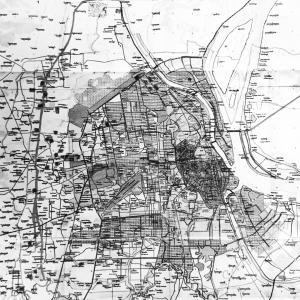 マスタープランの地図