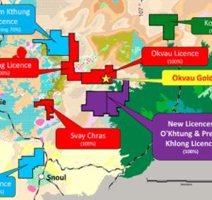 カンボジアの資源採掘始まる