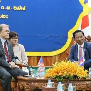 米国とカンボジア