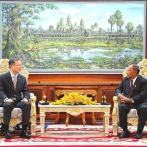 韓国は中国に次ぐカンボジアへの投資国となる