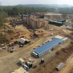 カンボジアの金精製工場本格稼働始まる