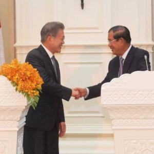 カンボジアと韓国