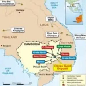豪州企業カンボジアで金採掘事業