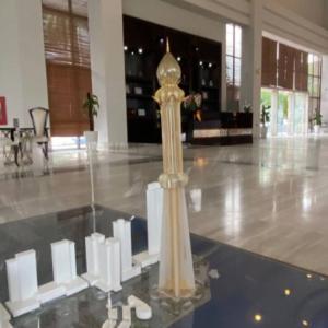 プノンペンの超高層ビルのモデル公開される