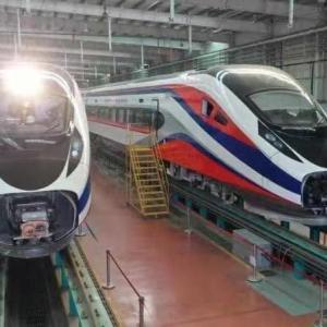 中国ラオス鉄道開通セレモニー