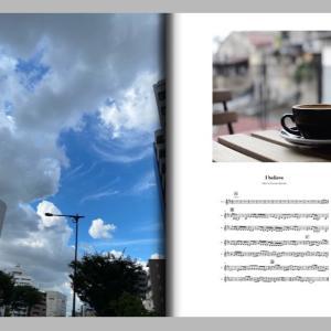 室岡裕介 WITH THE POTATO COD の楽曲の歌詞カードみたいなフォトブック