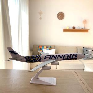 カレンダーのシンプルな貼り方とマリメッコの飛行機