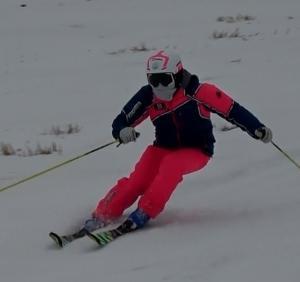 日向スキー場へ初滑り前半