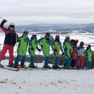 日向スキー場へ初滑り後半