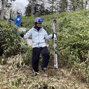 黒岳ロープウエイへ夏スキー2日目午前編