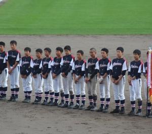I田先生の息子そうけん出場のオホーツク秋季中学校野球大会へ