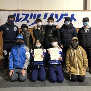 第5回全日本ジュニアスキー技術選手権大会に参加