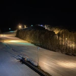 晴天の富良野スキー場へ1日目