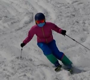 若松地区サクラ満開に・晴天の富良野スキー場へ3日目大回り小回り編