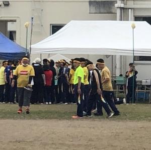 延期になって開催できた北見市内中学校の運動会