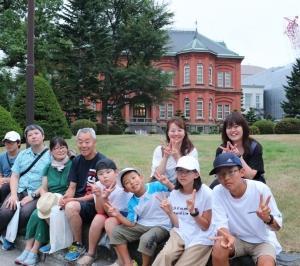 O泉先生の夏休み札幌ドームプレミアムエリアでのファイターズ観戦