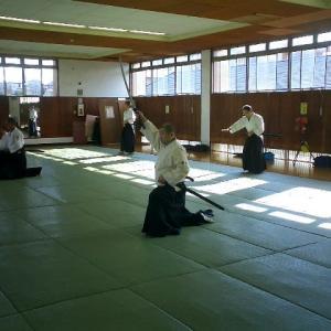令和元年11月4日千葉市武道館 古武道の練習