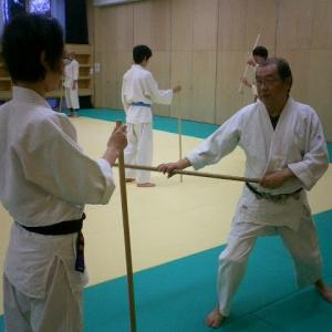 令和元年11月 八王子市民体育館の杖術