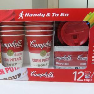 コストコ ◆ キャンベル インスタントスープカップ コーンポタージュ 1,098円也(200円引き) ◆
