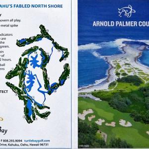 ハワイでゴルフ ★ タートルベイ アーノルド パーマー(リンクス)コース ★