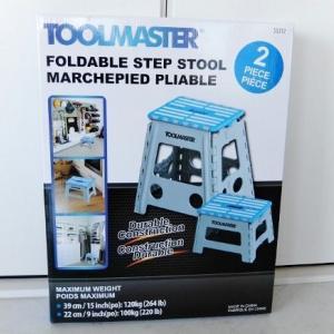 コストコ ◆ ステップ Folding Stool set TOOLMASTER 1,598円也 ◆