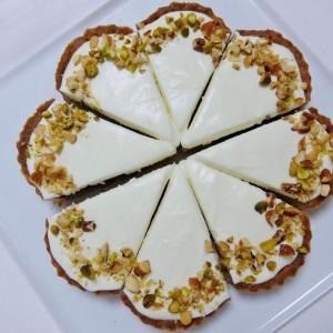 〓 チーズクリームでブルーベリータルト 〓