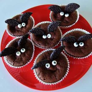 〓 ハロウィン 1番簡単♪チョコカップケーキ 〓