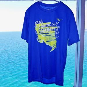 ホノルルマラソン2021プレエントリー Tシャツ届きました