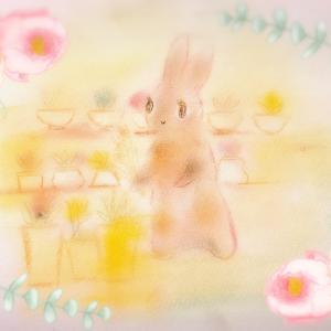 うさぎの花屋さん
