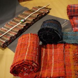 丹後木綿を織の風合いと遊び心と共に♪