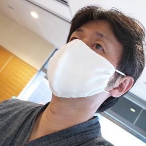 ちょっとしたパーティに付けれそうなマスク・・・。「きもの屋が作る夏マスク 製作記録♪」