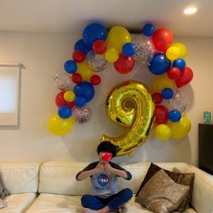 9歳のbirthday