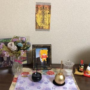 8/13お盆の飾り付け