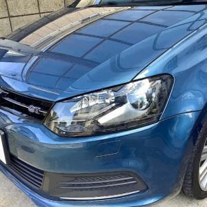 VW Polo ブルーGT ホイール修理