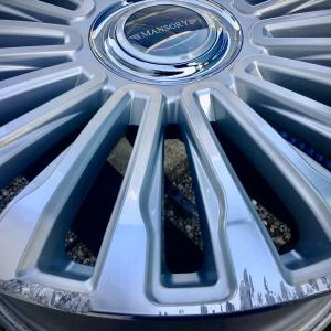 MANSORY Wheel 22インチ傷