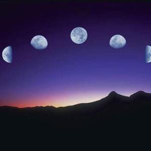 きょう、10月17日は新月 月のサイクルに着目すると・・・