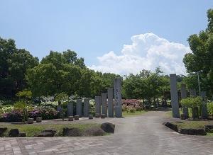トンボ池公園アジサイ園