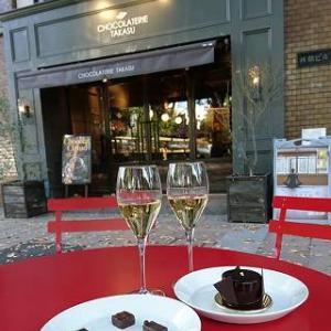 名古屋の街角でパリの雰囲気♪『ショコラトリーTAKASU』さん @名古屋