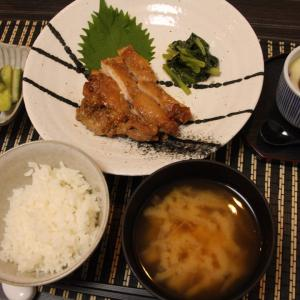 お夕飯 No.98 胡麻風味焼き鳥&茶碗蒸し