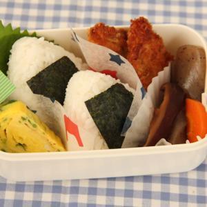 お弁当 No.700 おにぎり&鮭のムニエル弁当