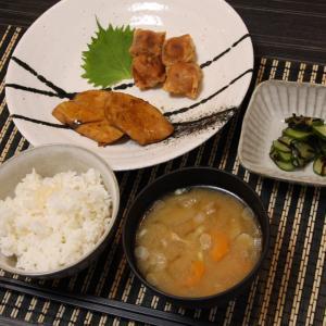 お夕飯 No.101 お鍋で炊いたご飯&豚汁