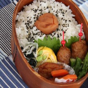 お弁当 No.701 鶏つくね弁当
