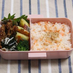 お弁当 No.738 チヂミ&豚の胡麻味噌焼き弁当